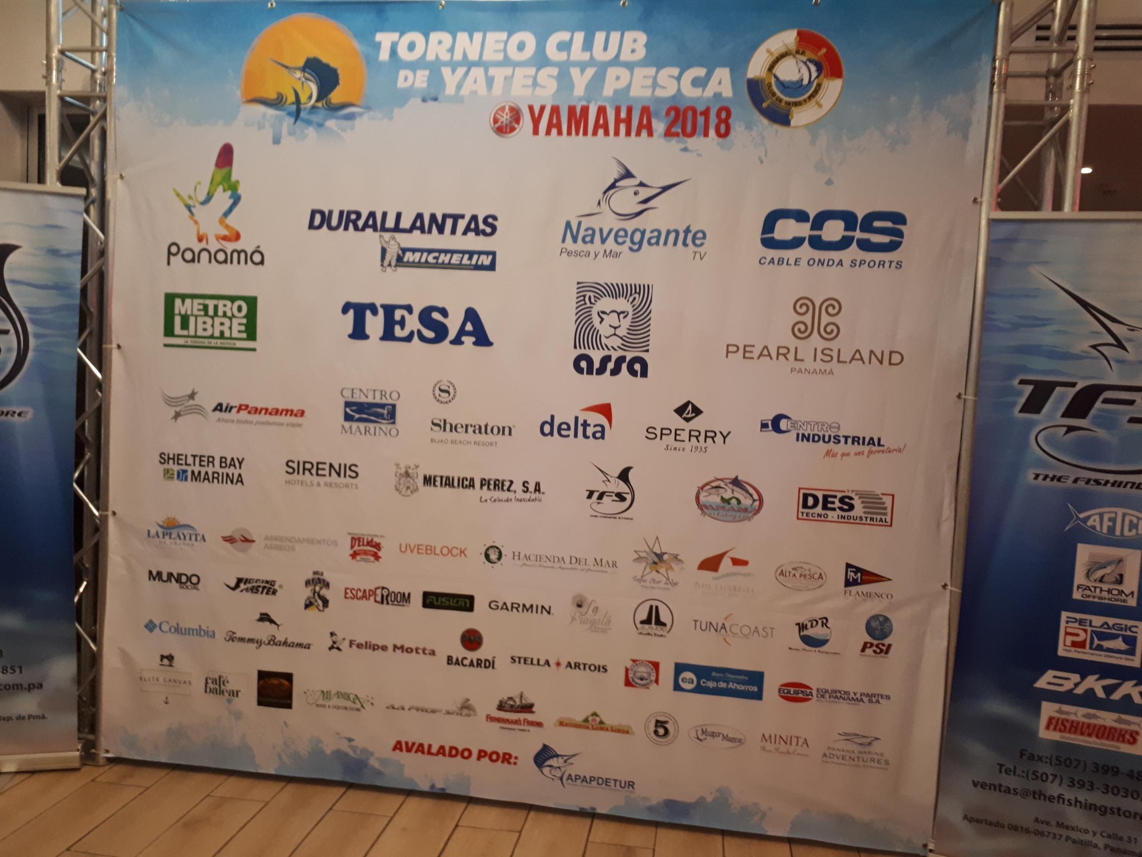 Torneo Club de Yates y Pescas 2018