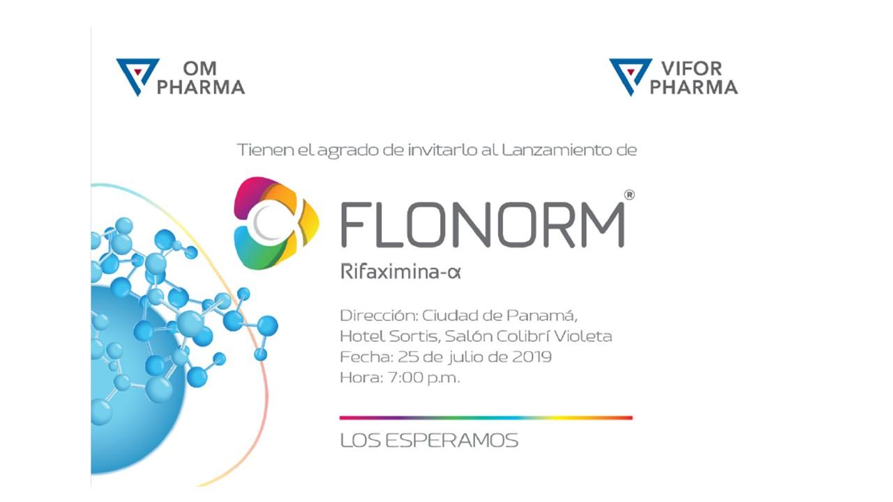 Lanzamiento de Flonorm - Laboratorio OM